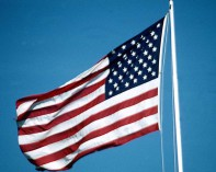american flag. disabled veterans